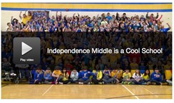 "Independence Middle School Named a FOX8 ""Cool School"""