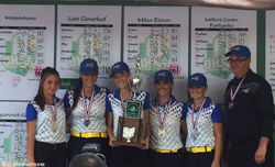 Blue Devils Girls' Golf Team Finish Second at State