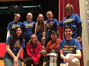 Independence Middle School's Power of the Pen Team Excels in Writing Competition