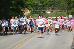 "Independence Athletic Boosters First Ever ""Indy Color Me Fun Run"""
