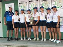 IHS Girls Golf Team Wins DII State Championship