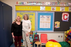 Independence Local Schools' IPride Star of the Week Allie Benkalowycz and Barb Mowrer
