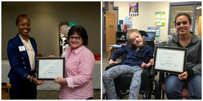 Independence High School Student and Staff Member Receive  ESC of Cuyahoga County's Excellence in Education Awards