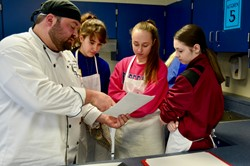 Independence High School Students Have Hands-On Cooking Experience in Foods Class