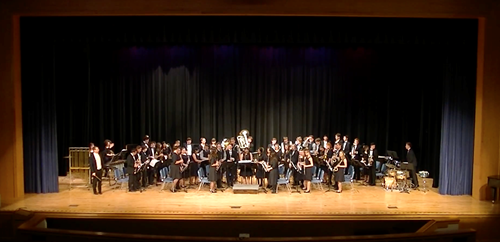 Independence High School Wind Ensemble Performs Original Work Independence High School Wind Ensemble Performs Original Work