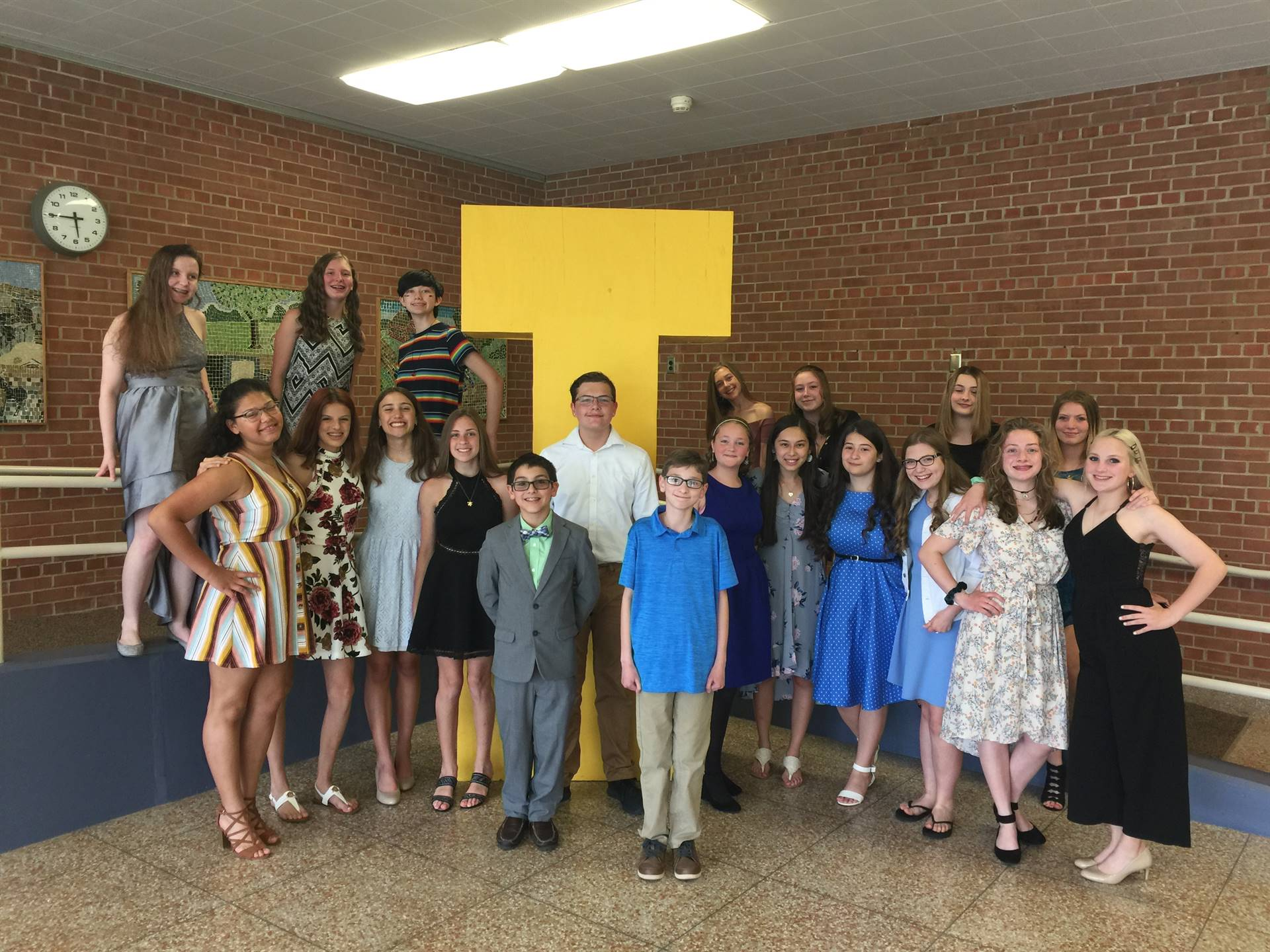 Congratulations to the 8th graders!