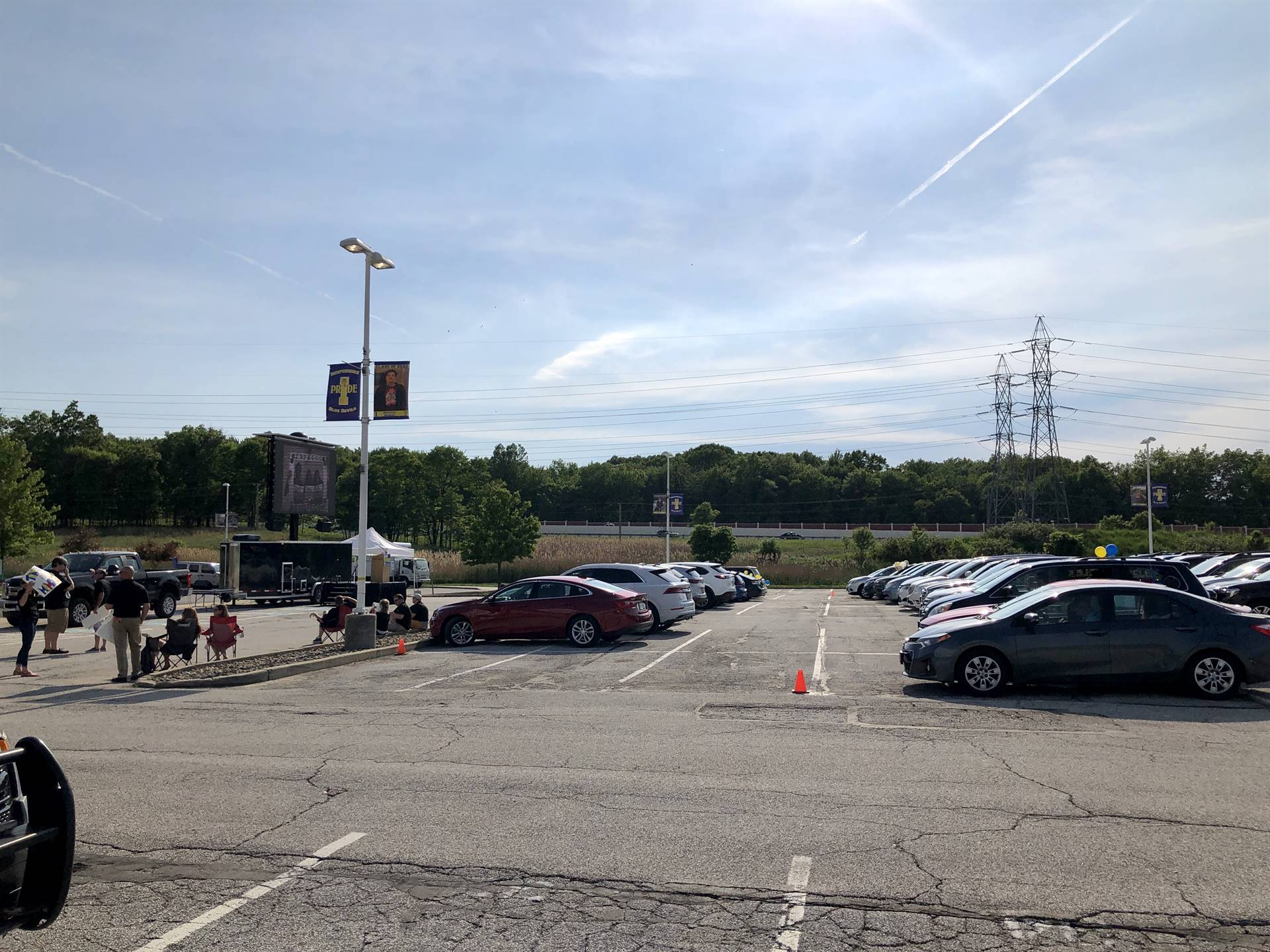 Independence Middle School 8th Grade Promotion Drive-In Event
